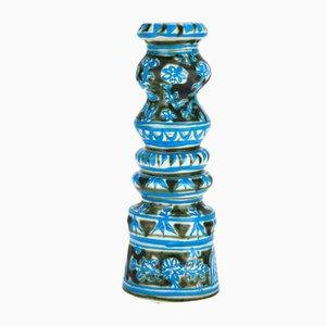 Portacandela in ceramica di Paul Yvain, anni '60