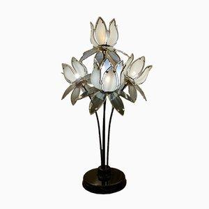 Lampada con fiore di loto