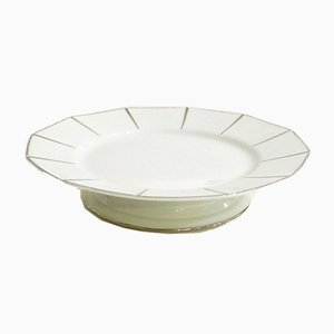 Art Deco Flat Footed Bowl