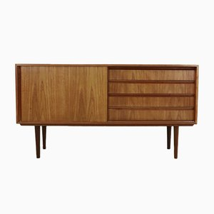 Danish Vintage Teak Sideboard with Drawers, 1960s