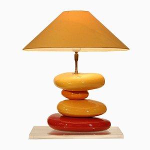 Lampe de Bureau Vintage en Céramique par François Chatain, France, 1990s