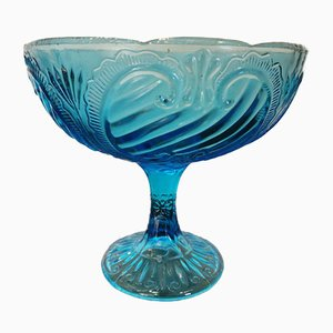 Blue Cut Glass, 1960s