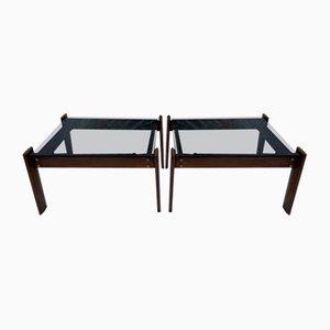 Sofa Beistelltische von Percival Lafer, 2er Set