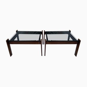 Sofa End Tables by Percival Lafer, Set of 2