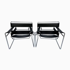 Wassily Chairs by Marcel Lajos Breuer, 1968, Set of 2