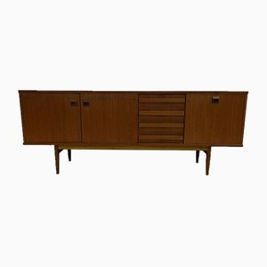 Scandinavian Row Vintage Teak Sideboard from Eros, 1960s