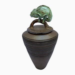 Covered Pot by Michel Fedi, 1970s