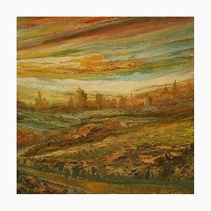 Pintura de paisaje grande, 1975