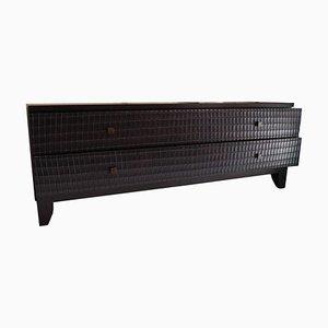 Cassettiera Fendi in legno