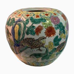 Jarrón de porcelana china, siglo XIX