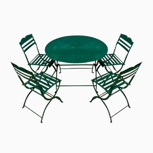 Garden Furniture Set, 1940s, Set of 5