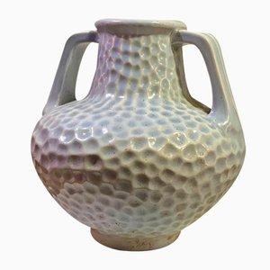 Jarrón inglés de cerámica de Bretby
