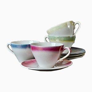 Vintage Tea Set, Set of 8