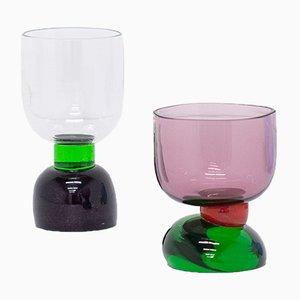 Joyful Glassware, Set of 2