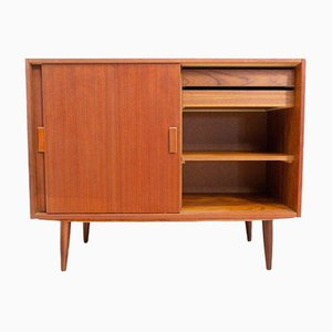 Mid-Century Danish Teak Storage Unit with Drawers, 1960s