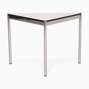 Metal & White Chrome Desk from Usm Haller