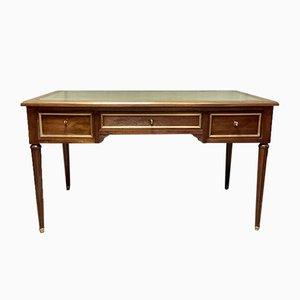 Mahagoni Schreibtisch im Ludwig XVI Stil
