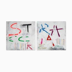 Stracciare, (Abstrakte Malerei), 2021