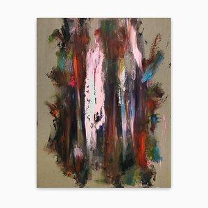 Albero magico, (Pittura astratta), 2021