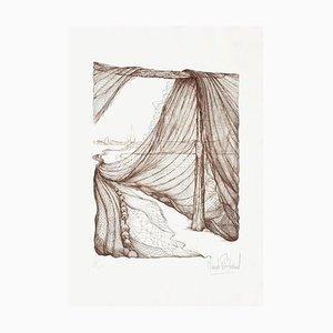 Drying Nets III by Claude Piechaud