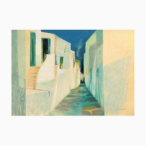 Rue À Mykonos von Claude Hemeret