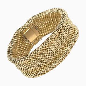Französisches Armband aus 18 Karat Gelbgold, 1960er