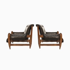 Jacaranda Easy Chairs by Jean Gillon for Italma Wood Art, Set of 2