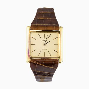 Orologio De Ville oro rosa a 18 carati di Omega, anni '60