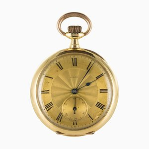 Yellow and Rose Gold Pocket Watch from Zenith, 1900s