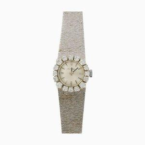 Französische Eviana White Gold Diamond Uhr