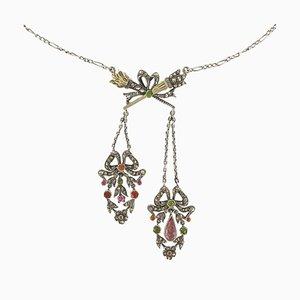 Halskette aus Silber, 19. Jh