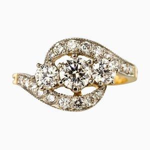 Anillo francés Diamond Trilogy
