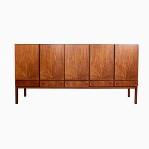 Rosewood Veneer Highboard by Alfred Hendrickx for Belform