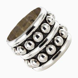 Silbernes Manschettenarmband