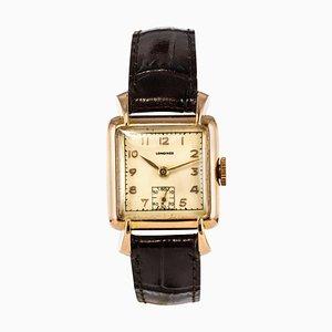 Reloj para señoras Longines de oro rosa de 18 quilates, años 60