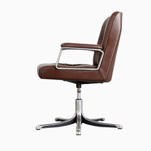 Model P126 Office Chair by Oswaldo Borsani for Tecno Milano