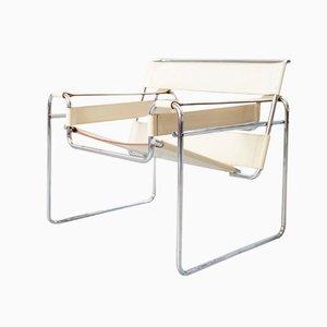 B3 Wassily Chair von Marcel Breuer für Gavina