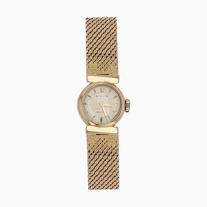 18 Karat Yellow Gold Ladies Wristwatch from Rolex, 1950s
