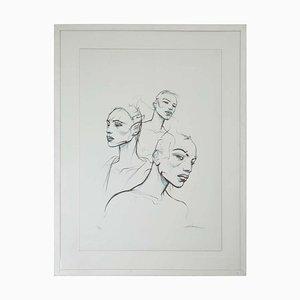 The 3 Sisters No. 11 Screenprint by Enki Bilal