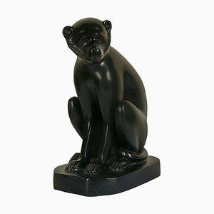 Bronze Monkey Sculpture by David Mesly