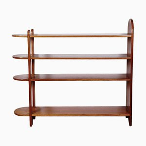 Mahogany Shelf by Eugène Printz, 1932