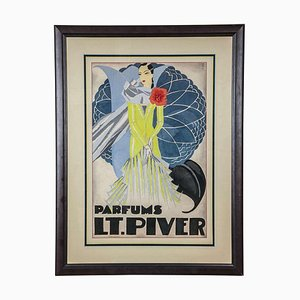Watercolor for a Perfume Advertising Project by Pera, 1920s