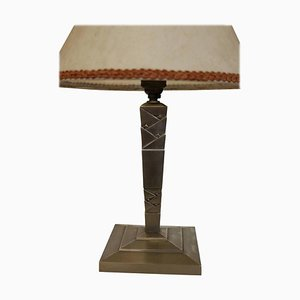 Table Lamp by Edgar Brandt, France, 1925