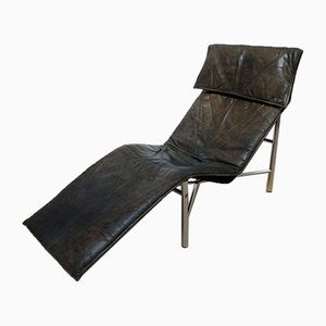 Swedish Leather Skye Lounge Chair by Tord Björklund for Ikea, 1970s