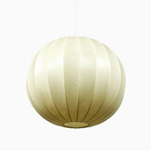 Cocoon Ball Pendant Lamp, 1960s