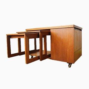Vintage Tristor Couchtisch / Satztisch / Barschrank von McIntosh