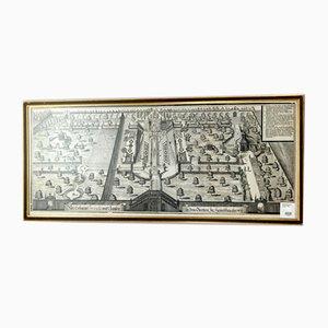 Michael Wening, Neue Erbaute Frescada und Laufen, Copper Plate