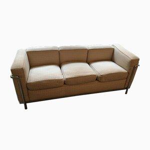 Vintage 3-Sitzer Sofa von Le Corbusier für Cassina