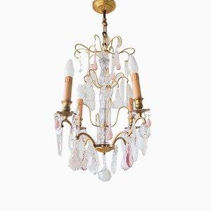Lámpara de araña francesa antigua