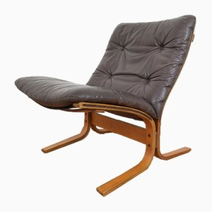 Mid-Century Norwegian Lounge Chair by Ingmar Relling for Westnofa, 1970s